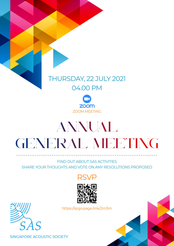 Annual general meeting in Zoom at Thursday, 22 July 2021 04:00pm (GMT+8)